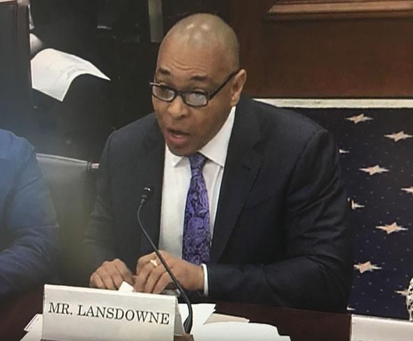 Bruce Landsdowne at Capitol Hill